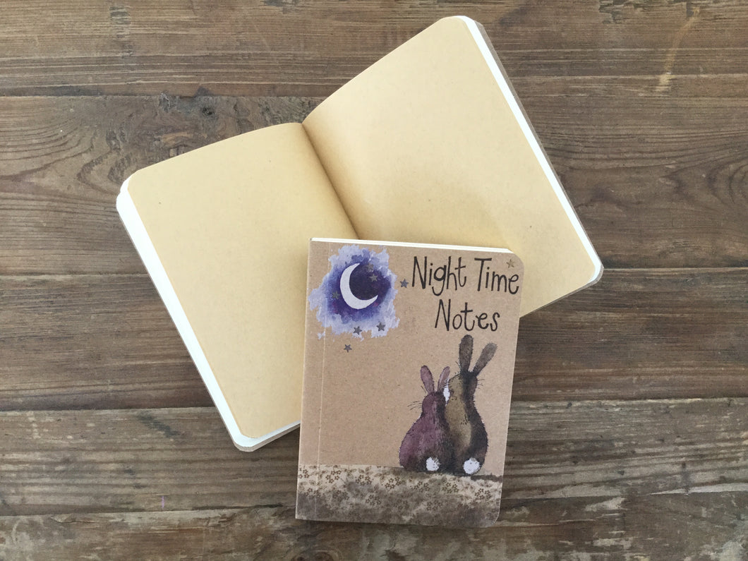 Moon Rabbit Small Kraft Notebook