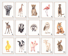 Load image into Gallery viewer, Nursery Farm Animals Print Set