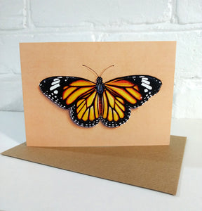 Monarch Butterfly Card A6