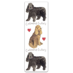 Contented Cockers Dog Magnetic Bookmark
