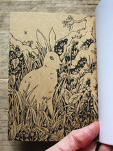 Load image into Gallery viewer, Hare A6 Kraft Notebook