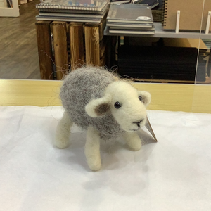 Needle Felted Herdwick Sheep