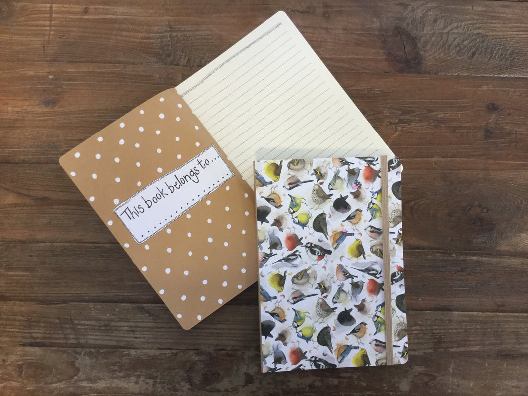 Birds Large Chunky Notebook