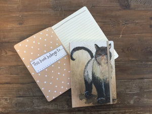 Coco The Cat Large Chunky Notebook