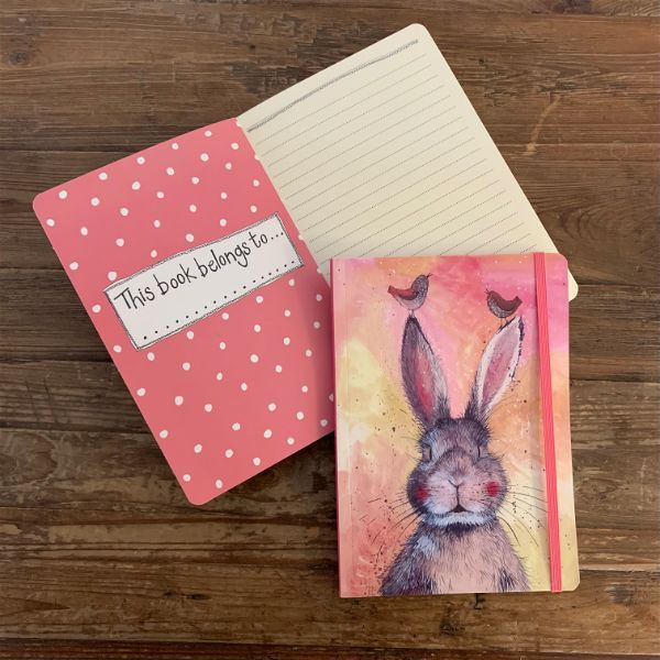 Hannah The Hare Large Chunky Notebook