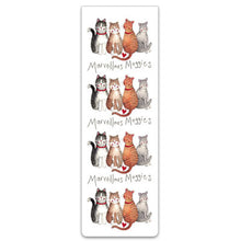 Load image into Gallery viewer, Marvellous Moggies Cats Magnetic Bookmark