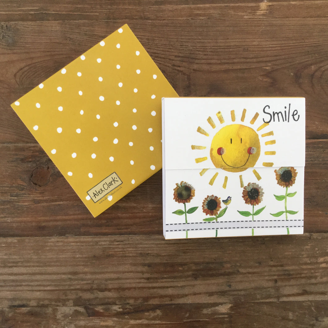 Smile Sunshine Magnetic Notepad