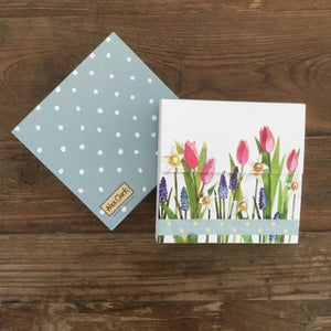 Flowers Mini Magnetic Notepad