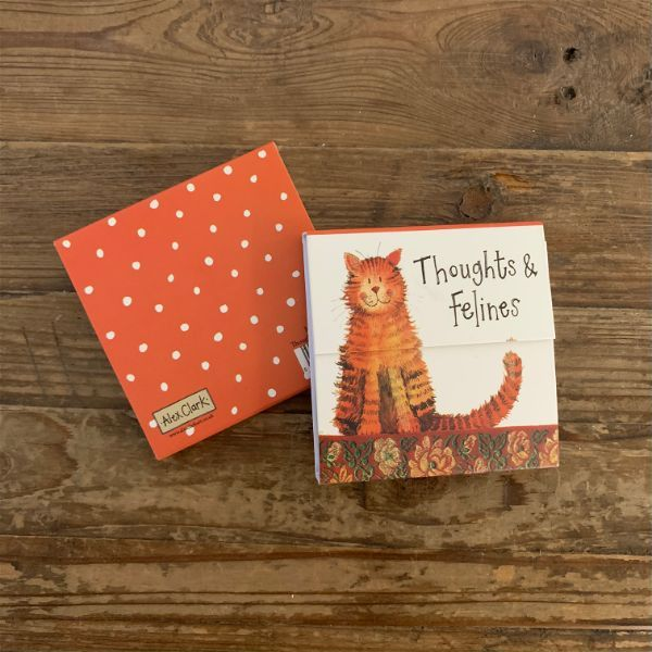 Ginger Cat Mini Magnetic Notepad