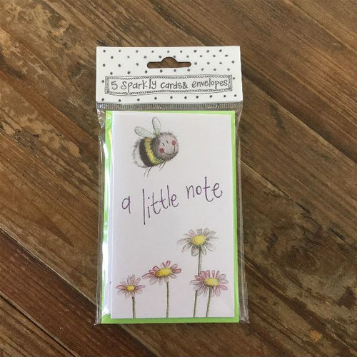 Little Note Bee Notelets (5 Pack)