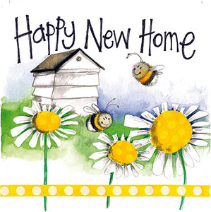 New Home Bees Greeting Card