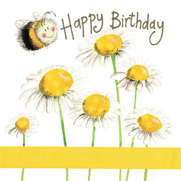 Bee Birthday Greeting Card