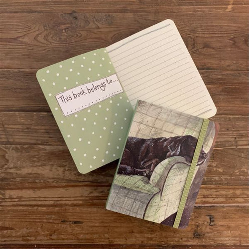 Buddy Labrador Dog Small Chunky Notebook