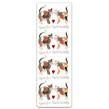 Load image into Gallery viewer, Terrific Tortoiseshells Cats Magnetic Bookmark