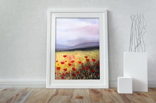 Poppies - A3 Print