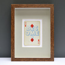 Load image into Gallery viewer, 2 Become 1 playing card print