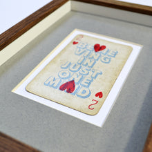 Load image into Gallery viewer, Two hearts playing card print
