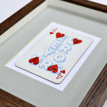 Load image into Gallery viewer, Forever yours playing card print