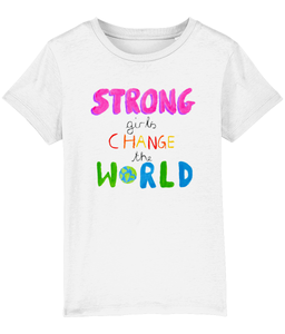 Strong girls kids t-shirt