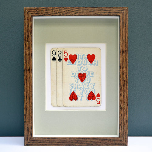 9 to 5 playing card print