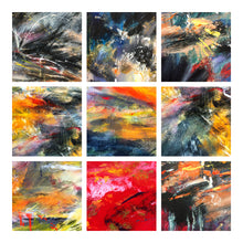 Load image into Gallery viewer, 'Glowing embers' abstract fine art print