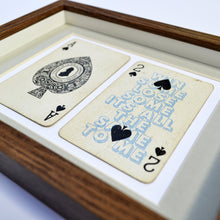 Load image into Gallery viewer, Ace of spades playing card print