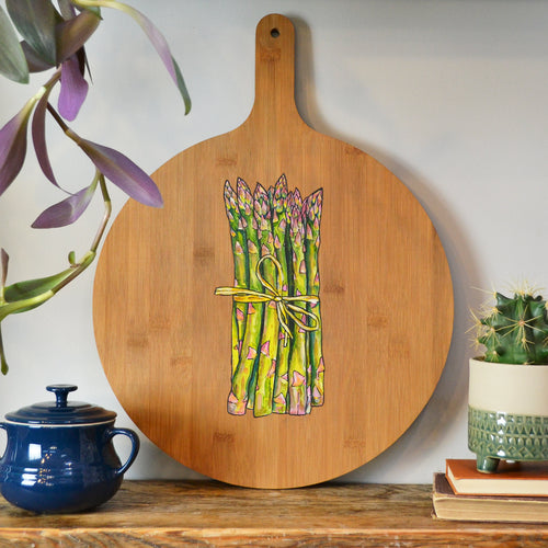 'Asparagus' serving board
