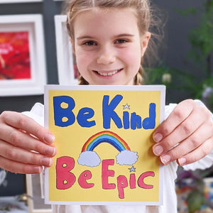 Be Kind, Be Epic card