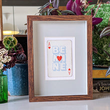 Load image into Gallery viewer, Be mine playing card print