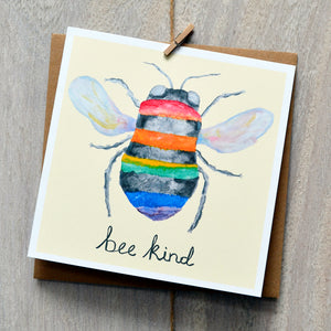 Bee kind card