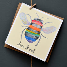 Load image into Gallery viewer, Bee kind card
