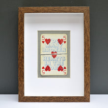 Load image into Gallery viewer, Too many broken hearts playing card print