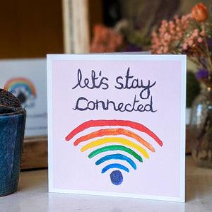 Let's Stay Connected card