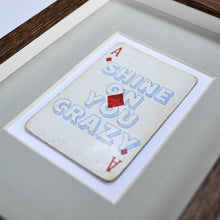 Load image into Gallery viewer, Shine on you crazy diamond playing card print