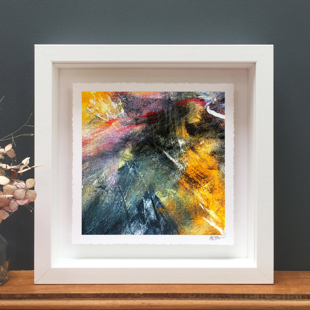 'Darkness and light' abstract fine art print
