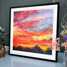 Load image into Gallery viewer, 'Ealing sunset' fine art print