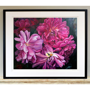 'Full bloom 2' limited edition giclee print