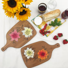 Load image into Gallery viewer, Floral serving board