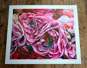 'Full bloom 3' limited edition giclee print