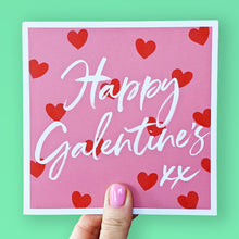 Load image into Gallery viewer, Happy Galentine's card