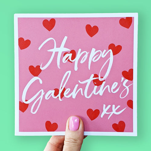 Happy Galentine's card
