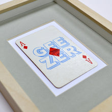 Load image into Gallery viewer, Diamond geezer playing card print