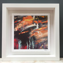 Load image into Gallery viewer, 'Glowing orange' abstract fine art print