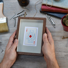 Load image into Gallery viewer, Diamond in the rough playing card print