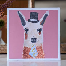 Load image into Gallery viewer, Mr Llama card