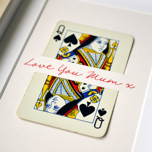 Independent Women playing card print