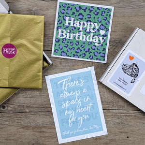 Our song best friend letterbox gift set