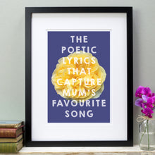 Load image into Gallery viewer, Mum's favourite song