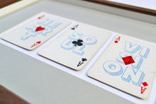 Load image into Gallery viewer, One vision playing card print