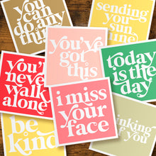 Load image into Gallery viewer, Positivity cards - pack of five